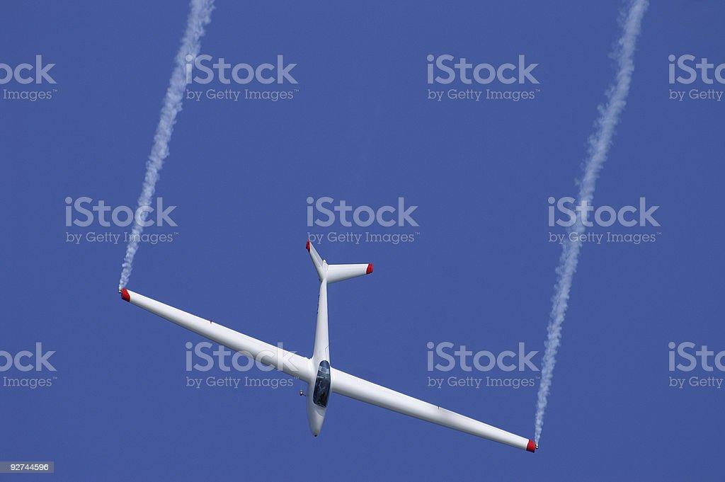 Glider royalty-free stock photo