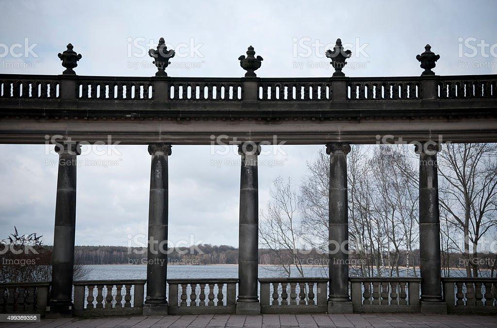 Glienicker Brücke stock photo