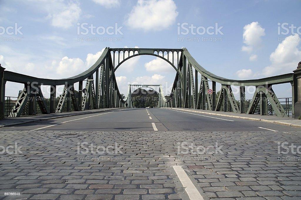 glienicker bridge 2006 3 royalty-free stock photo