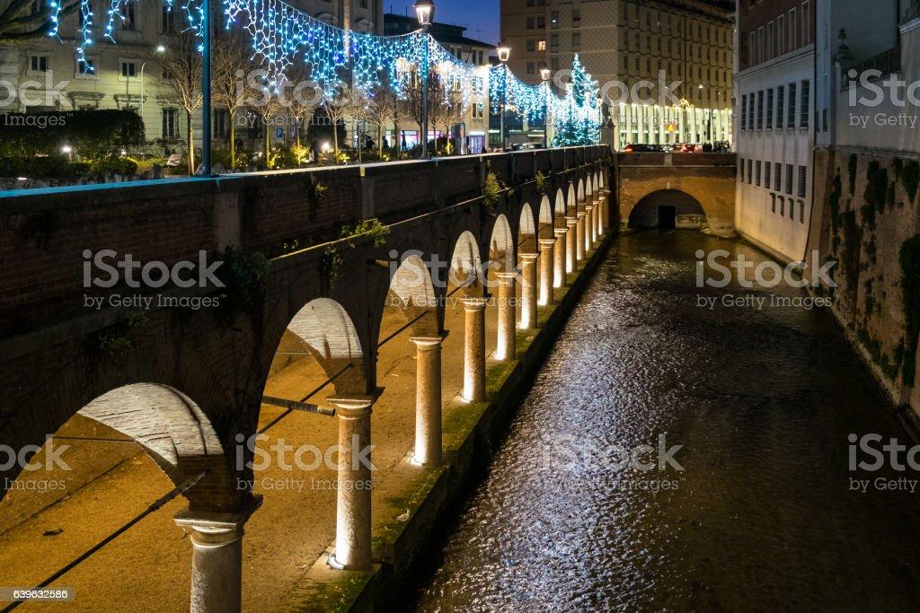 Glimpse of Mantua stock photo