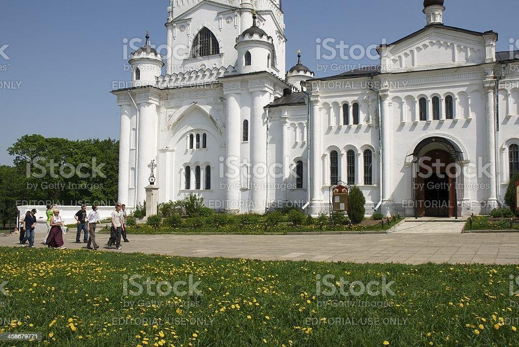 Église blanche stock photo
