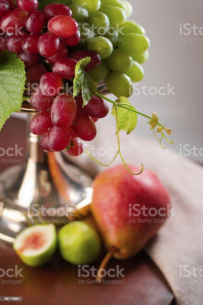 Glistening Grapes stock photo