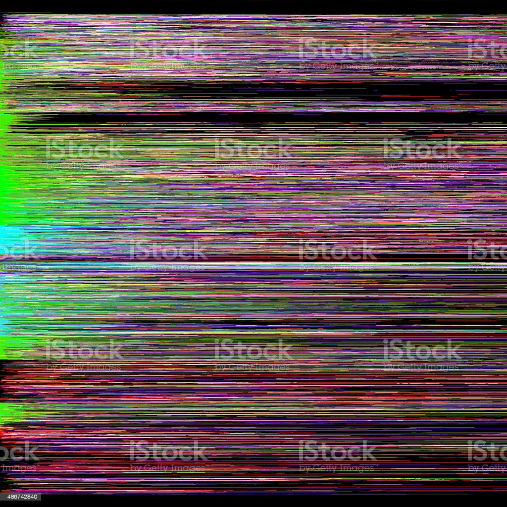 Glitch Art stock photo