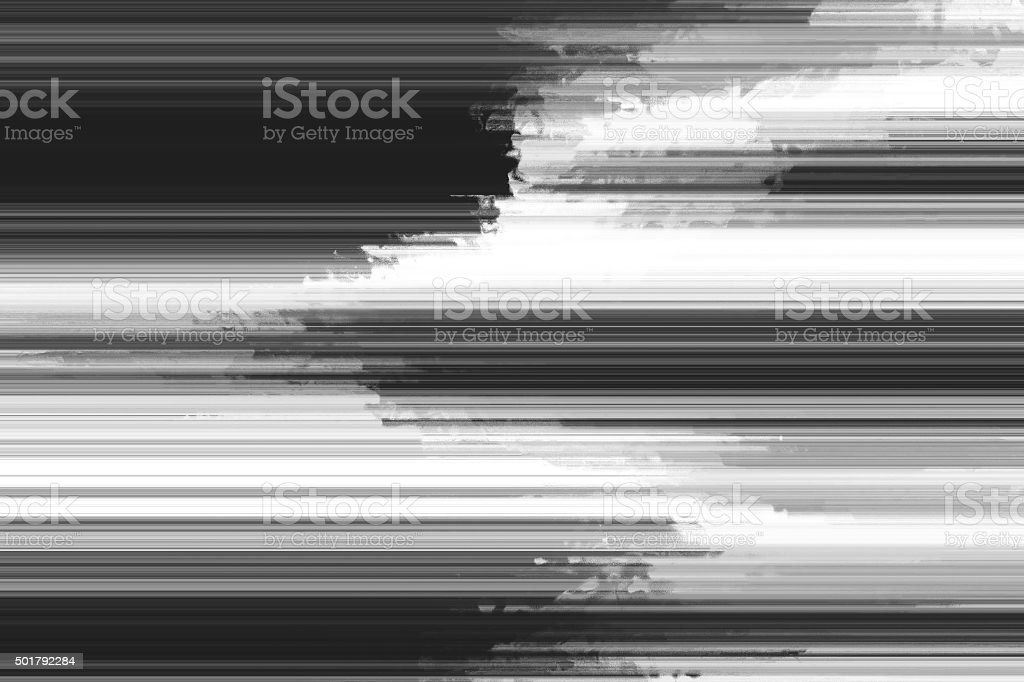 glitch screen stock photo