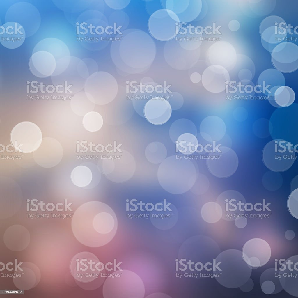 Glitter bokeh defocused lights background stock photo