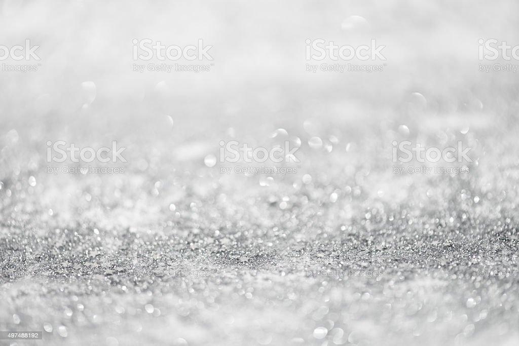 Glitter Defocused Background stock photo