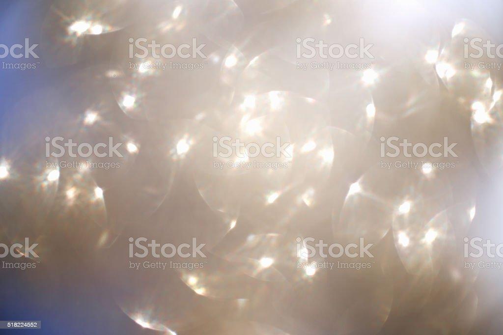 Glitter light background stock photo