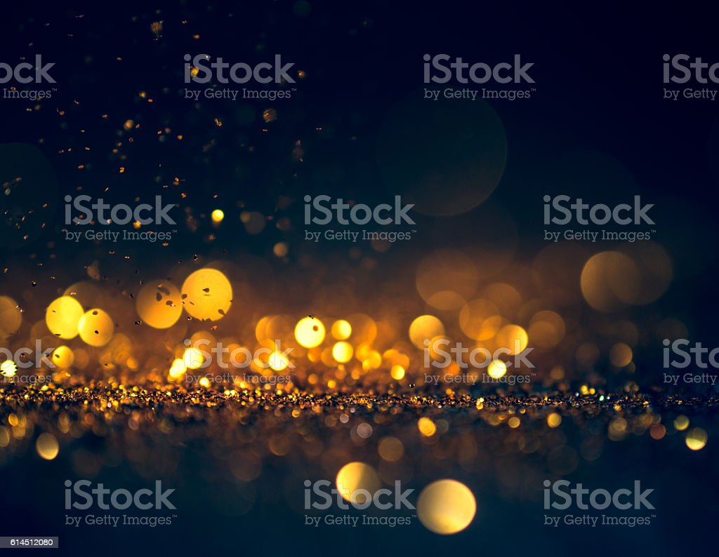 glitter lights grunge background, glitter defocused abstract Twi stock photo
