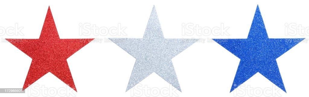 Glitter Stars Line(XXL) royalty-free stock photo