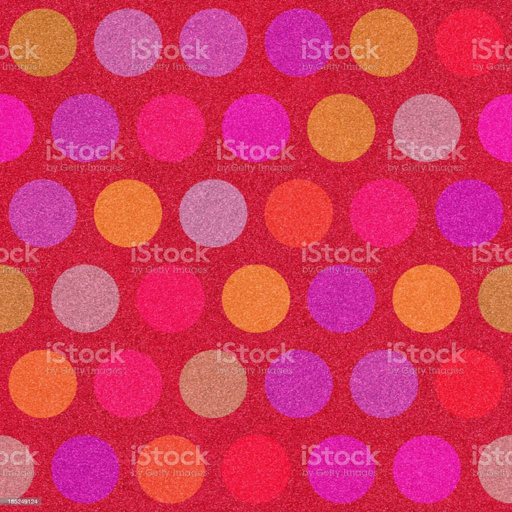 glitter  with color dot pattern royalty-free stock photo