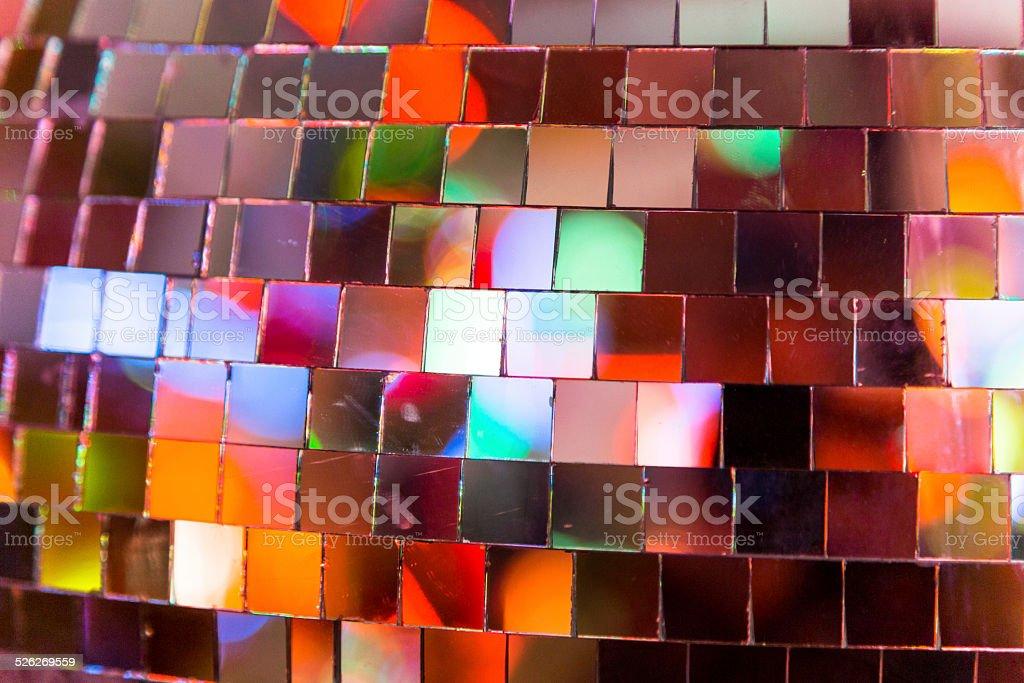 Glitterball Abstract stock photo