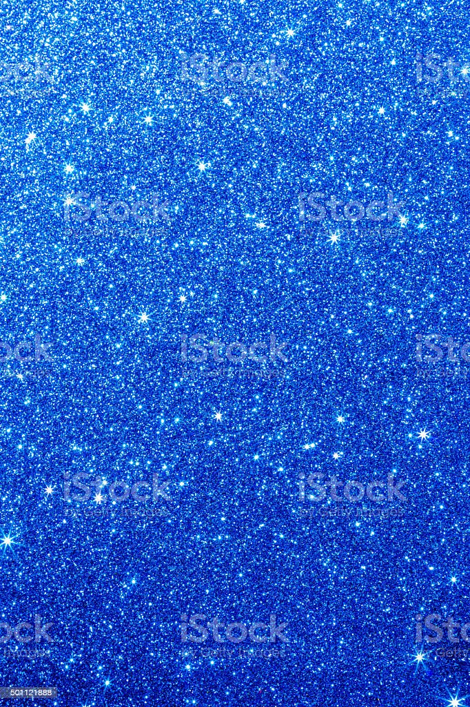 Glittering Blue Texture stock photo