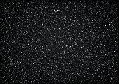 Glittering dark starry cosmic space