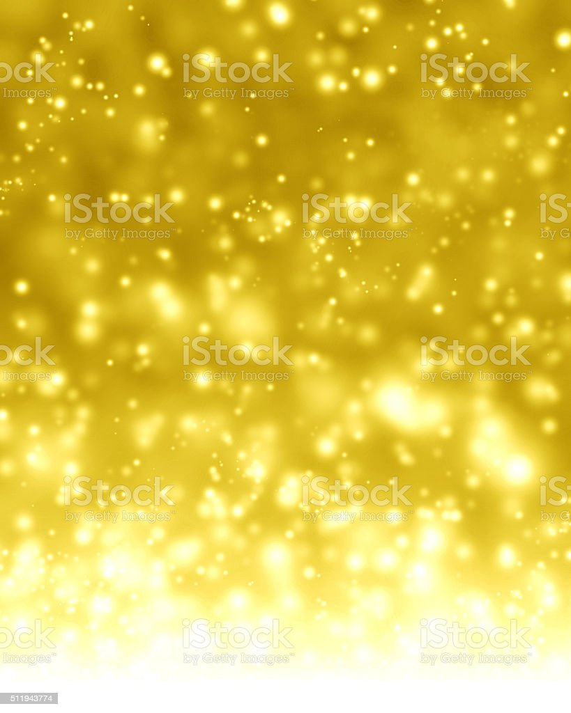 Glittering gold background stock photo