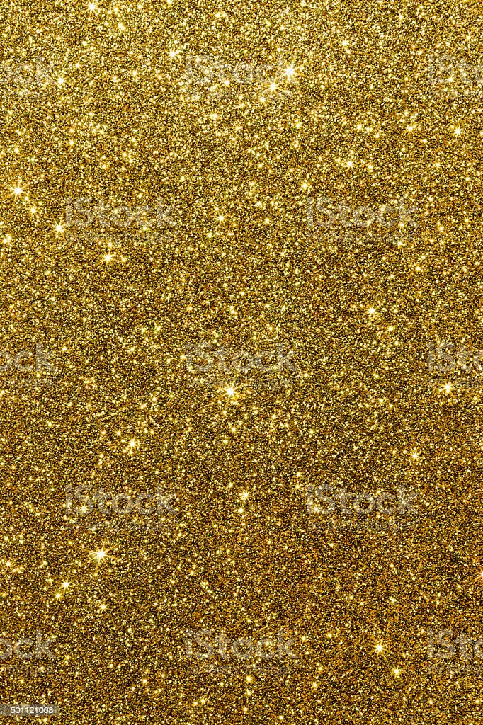Glittering Gold Texture stock photo