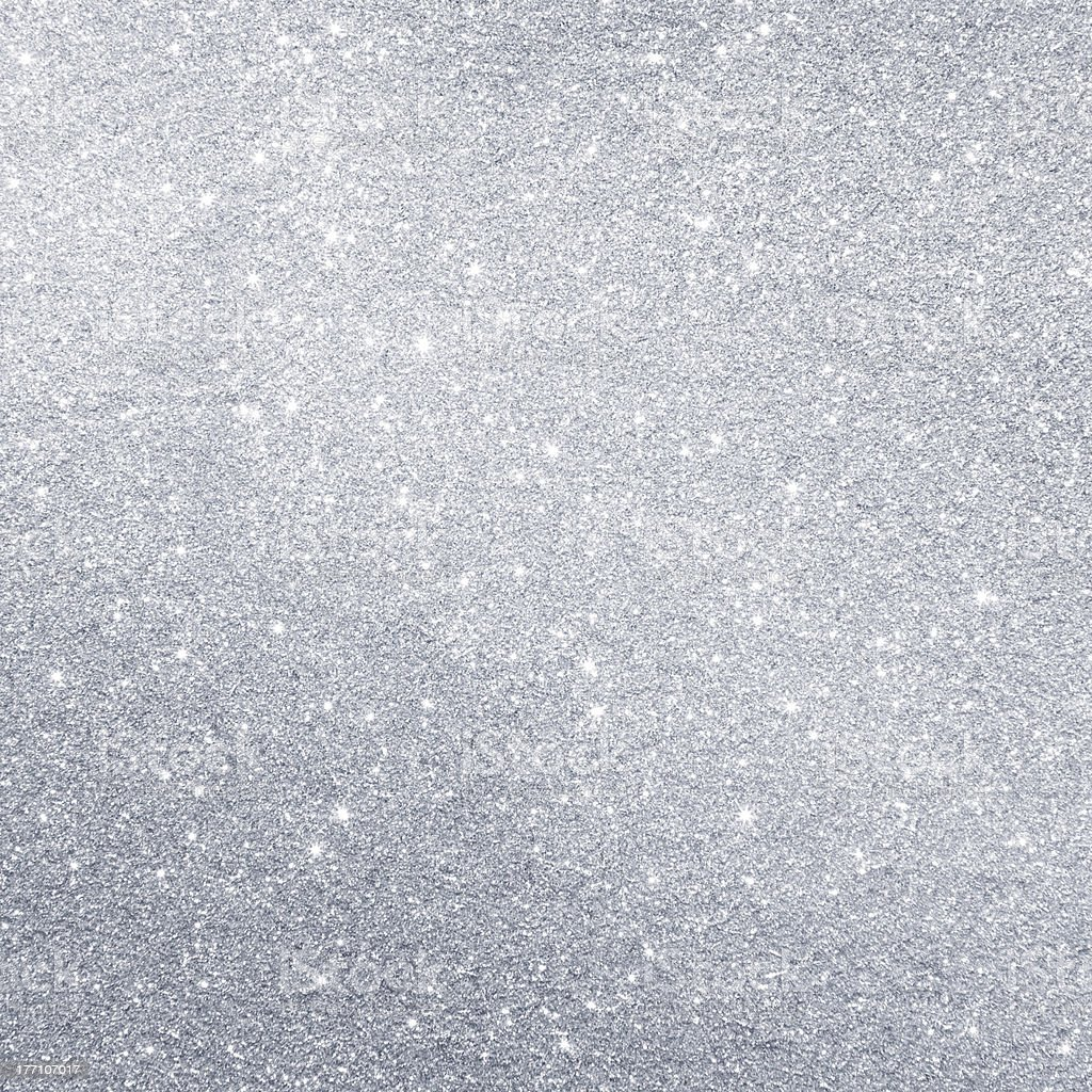 Glittering silver background royalty-free stock photo