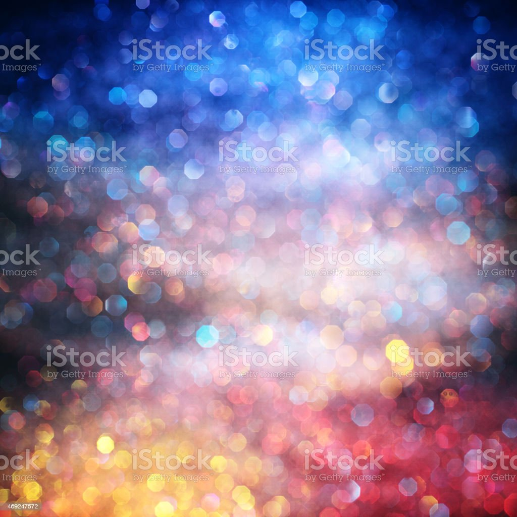 Glittering sunrise stock photo