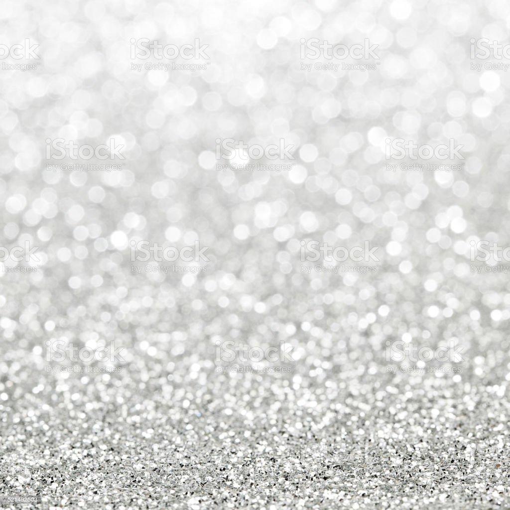 Glittery lights background stock photo