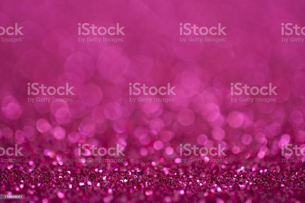 Glittery pink background stock photo