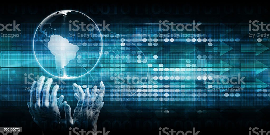 Global Accessibility of Technology stock photo