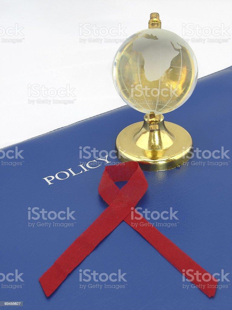 Global Aids Awareness stock photo