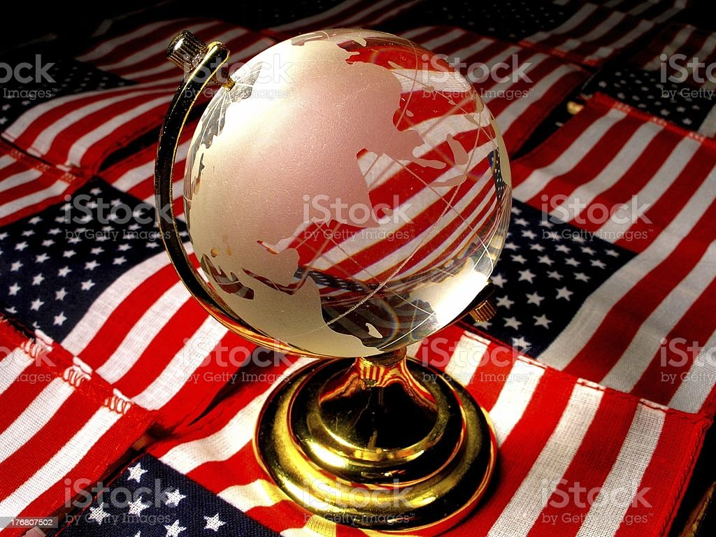 Global America royalty-free stock photo