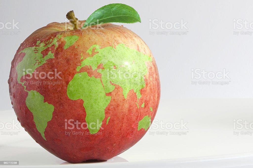 Global apple stock photo