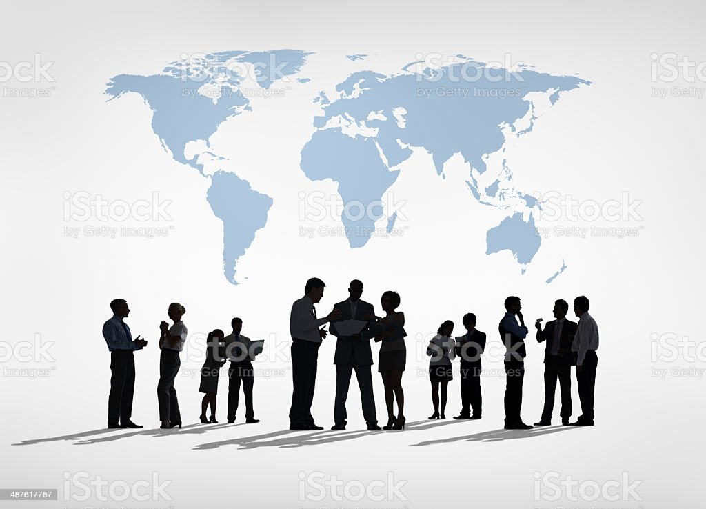 Global Busienss stock photo