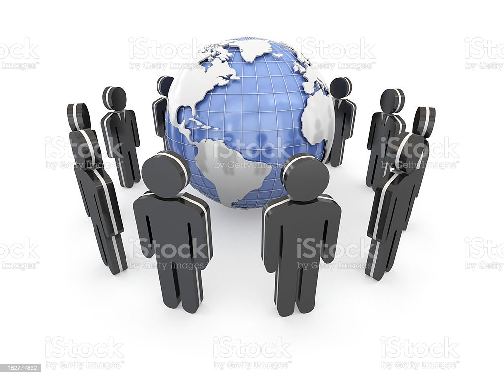 Global business concept. royalty-free stock photo