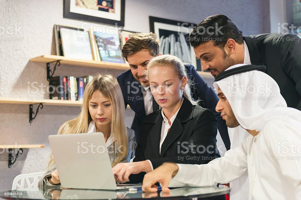 Global Business - Middle East stock photo