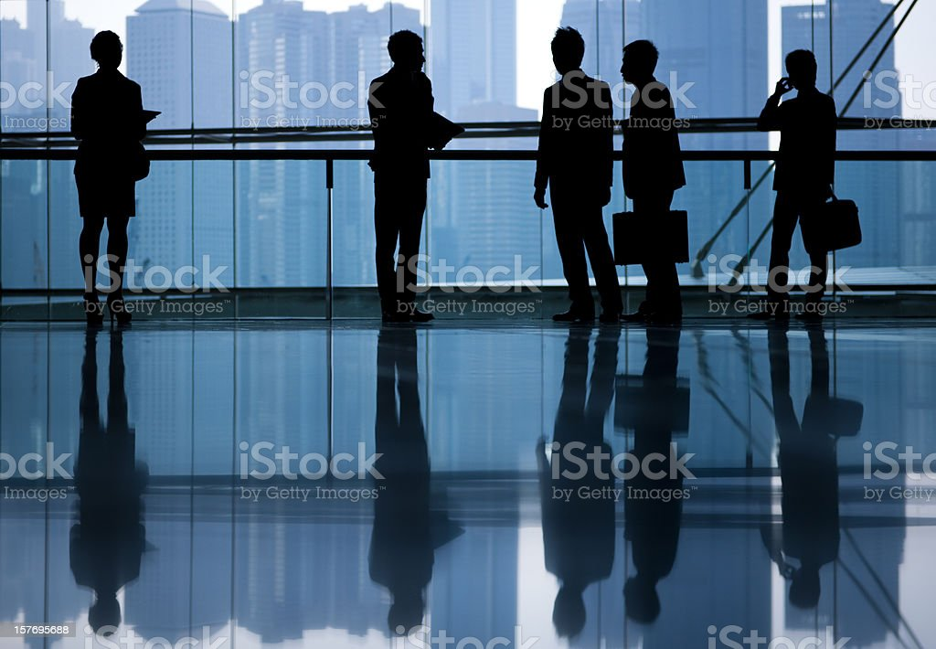 Global Business People in Asia royalty-free stock photo