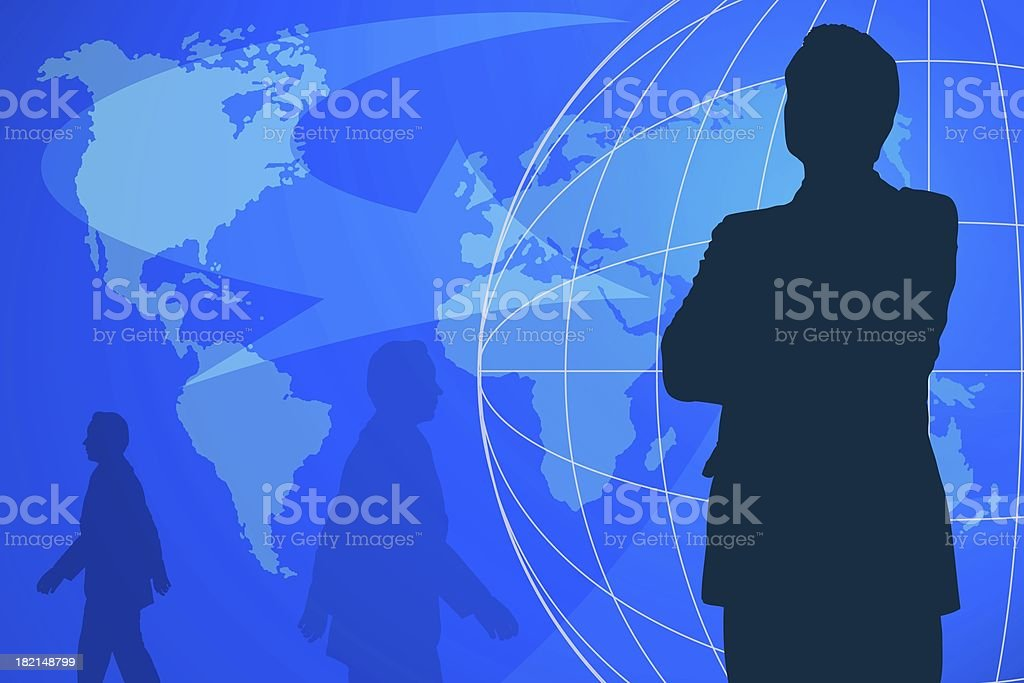 Global business. royalty-free stock photo