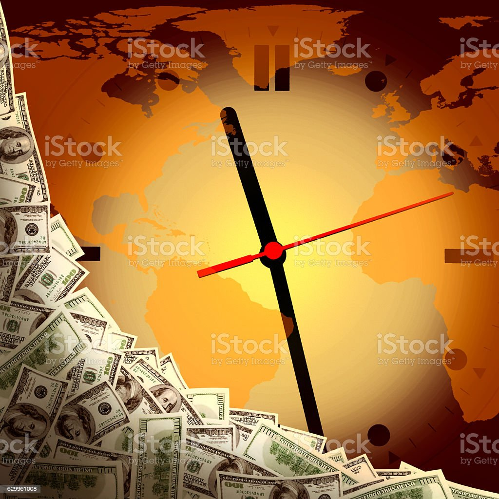 global business time stock photo
