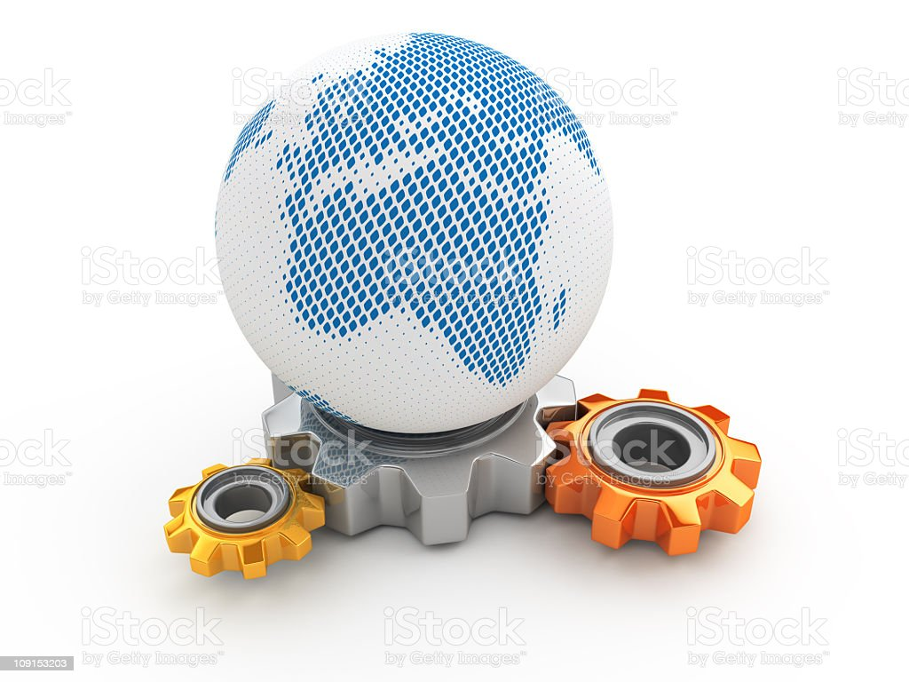 global changes royalty-free stock photo