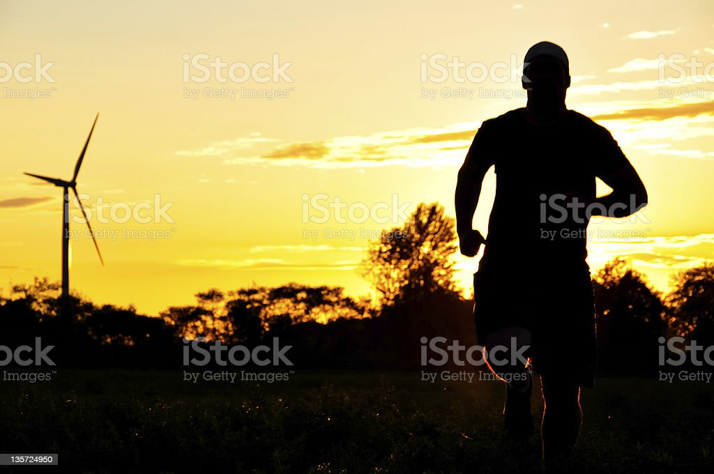 Global Clean Energy Race royalty-free stock photo