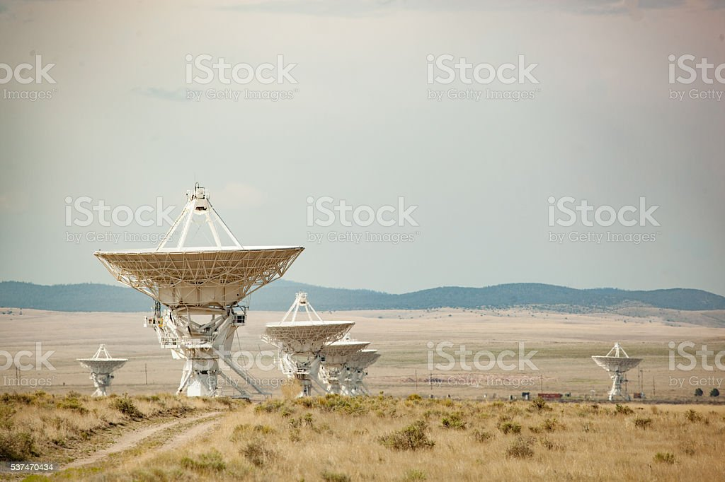 global communication astronomy stock photo