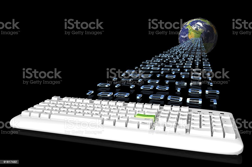 Global communication concept. royalty-free stock photo