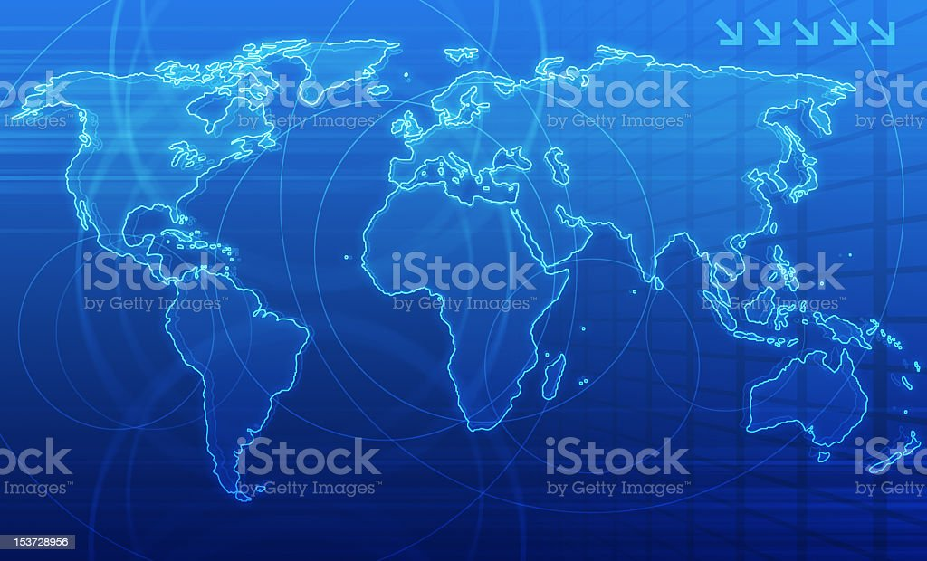 Global Communication stock photo
