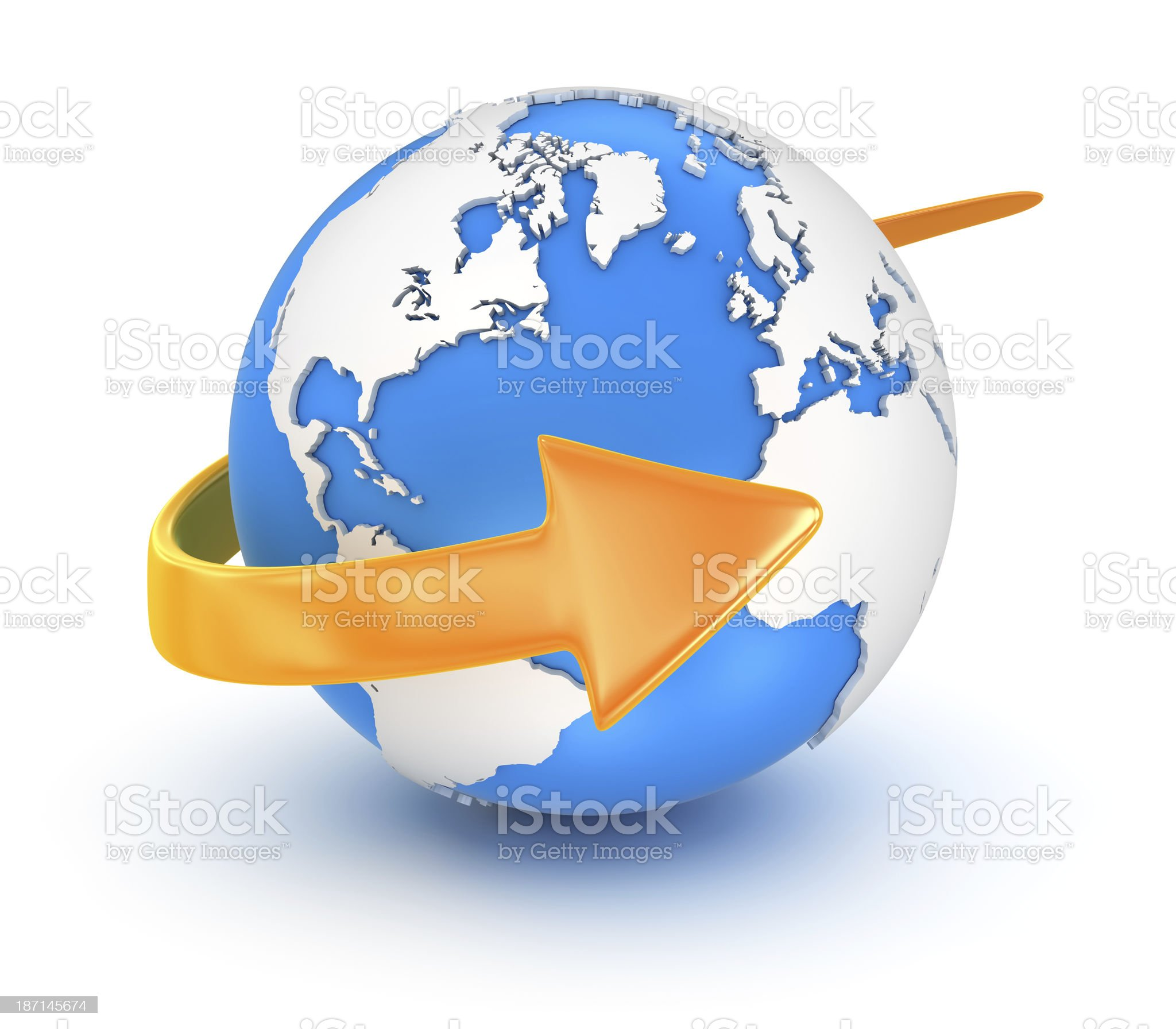 Global Communication royalty-free stock photo