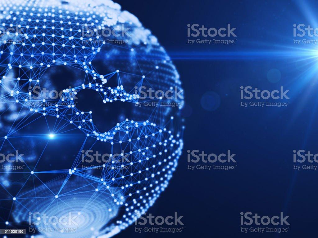 Global Communication stock photo