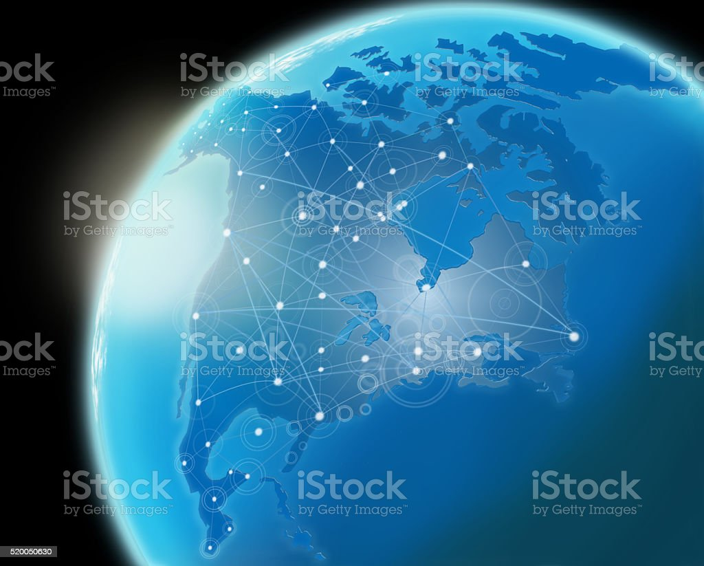 Global Communication. stock photo
