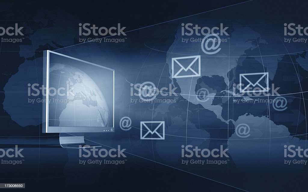 Global Communication XXL stock photo