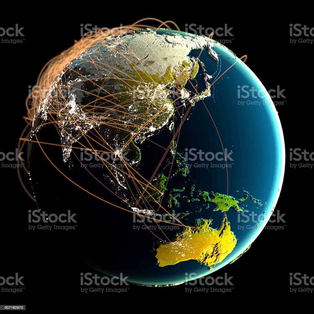 Global Communications. stock photo
