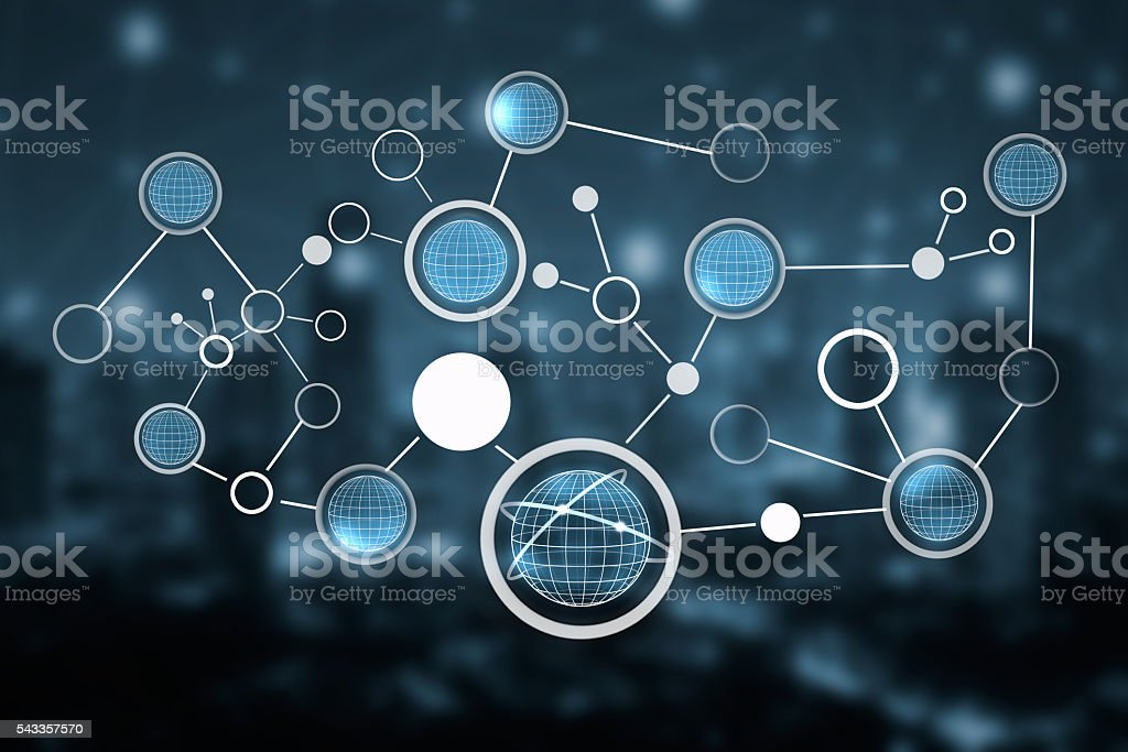 Global connection concept,Global communication,global network concept stock photo