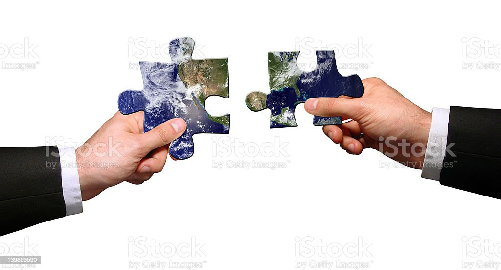 Global connection royalty-free stock photo