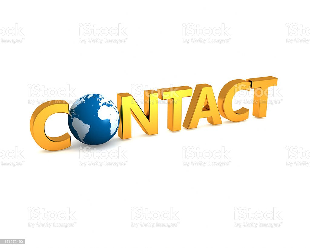 Global contact concept royalty-free stock photo