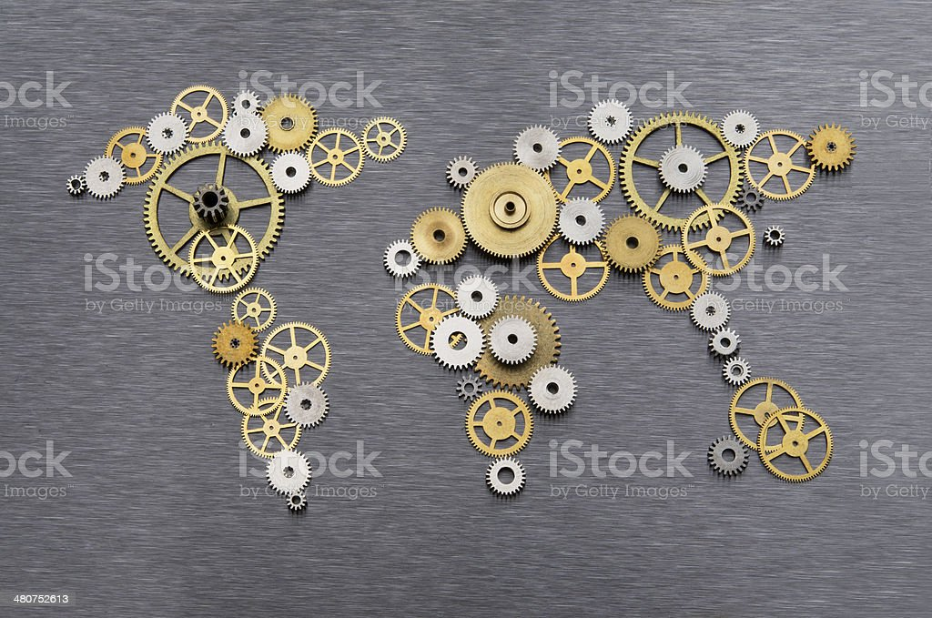 Global cooperation stock photo