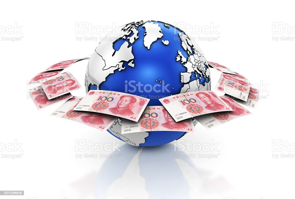 Global Currencies stock photo