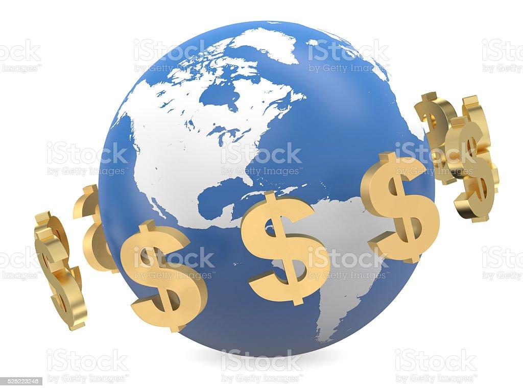 Global Currencies stock photo