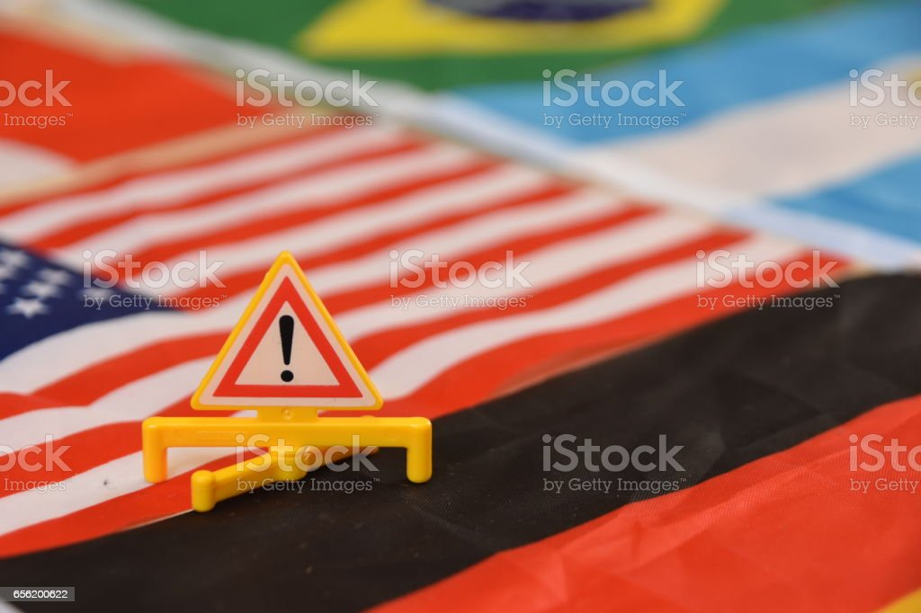 Global danger stock photo